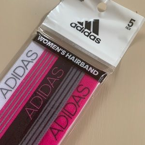 ADIDAS headband set of 5